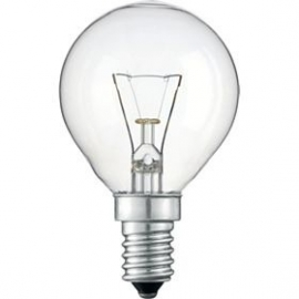 Gloeilamp kogel E14 15 watt