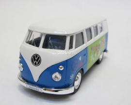 VW bus T1 blauw hippie