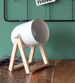 Tafellamp Studio wit