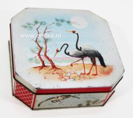 Blik Japanse kraanvogels