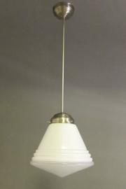 Hanglamp Luxe Schoollamp M met lichtvenster