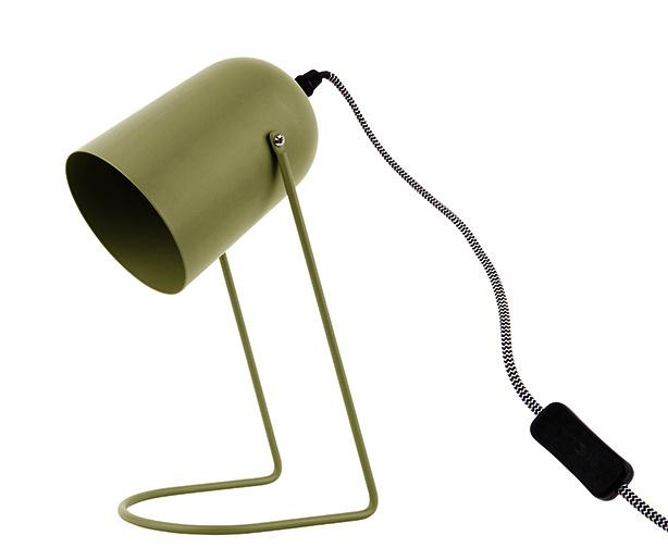 Tafellamp Enchant olijfgroen