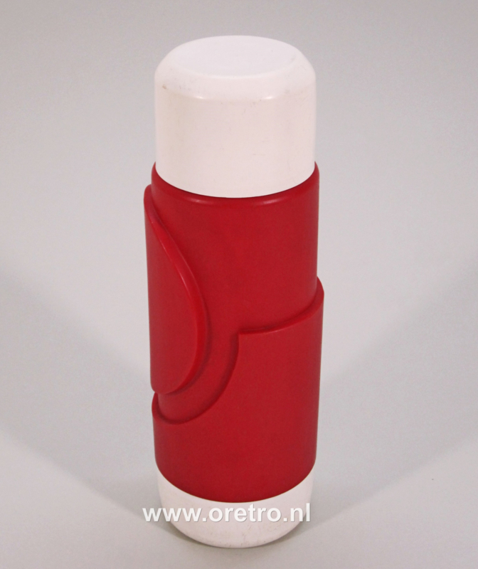 Thermoskan rood wit