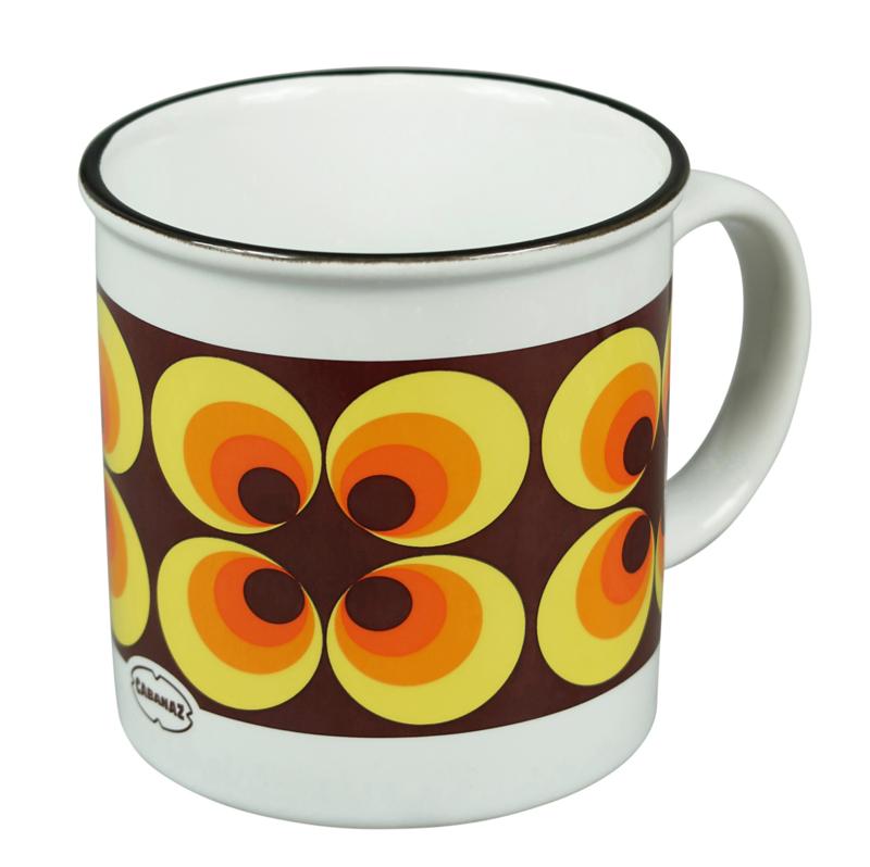 Koffiekop Ramona oranje