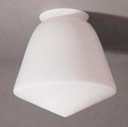 Glas Schoollamp klein