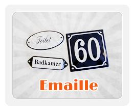 emaille huisnummers en naamplaatjes