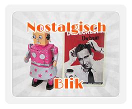 nostalgische blikken reclameborden en speelgoed