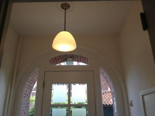 schoollamp in hal