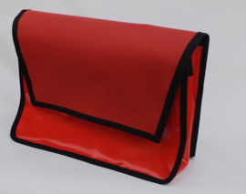 Medium messenger bag  Toit rouge