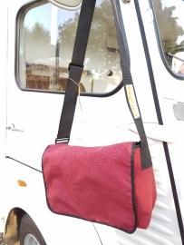 Bannerbag medium Helanca rouge