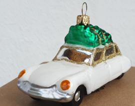 3 kerst auto's  naar keuze