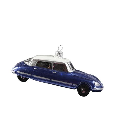 Citrobag Citroen Christmasball (kerstbal) DS Blauw