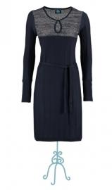Nina dress - nachtblauw