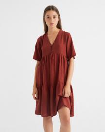 Thinking Mu - Teja Hemp Fresia Dress