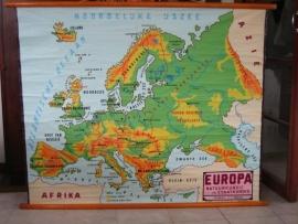 Oude Schoolplaat: Europa