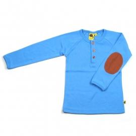 Elbove t-shirt blauw