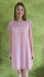 You wish dress - Pink/lilac lace