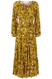 Traffic People - Woodstock dress Mustard