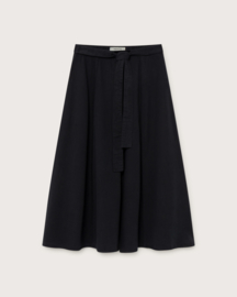 Thinking Mu - Black Tauret Skirt