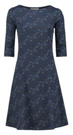 Deborah dress blauw