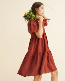 Thinking Mu - Teja Hemp Fresia Dress