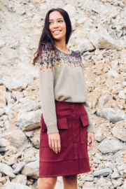 SKFK - Iradi sweater beige