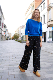 Froy&Dind - Pants Eliane Dots Black