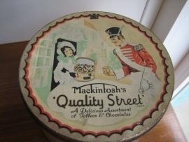 Heel Oud Blik Mackintosh Quality Street