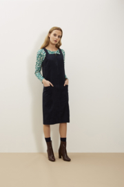 Inga corduroy pinafore dress
