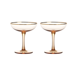 &Klevering -  Champagne Coupes Pink