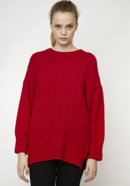 Compania Fantastica - Red Cable Jumper