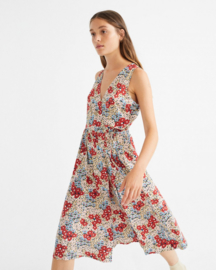 Thinking Mu - Small Flowers Amapola Dress