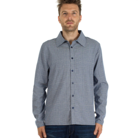 MM - Shirt Grid tencel long sleeve