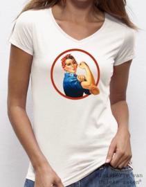 Muz - T-shirt Power Woman