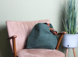 Emma Martin - Classic Bag Dark Green