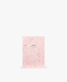Wouf - A6 notebook Pink Marble