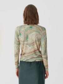 Nice Things - Ceramic Print roundneck sweater