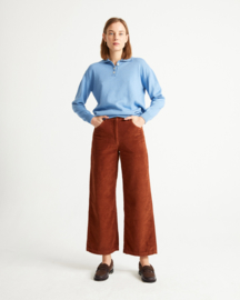 Thinking Mu - Clay Red Corduroy Pants