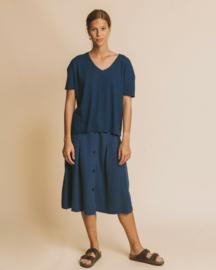 Thinking Mu - Blue Hemp Chloe T-Shirt