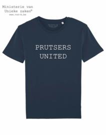 MuZ - T-shirt Prutsers United (donkerblauw)