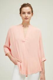 GP - Coral crinkle shirt