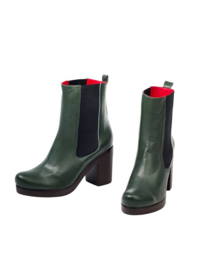 Ankle boots groen