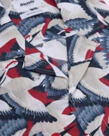 Crane For Luck Aloha Shirt