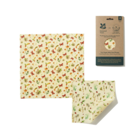 Beeswax - Vegan 2-pack combo Autumn Leaves print