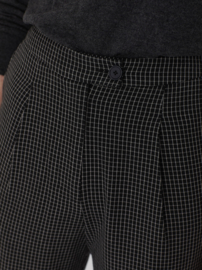 Nice Things - Black checked trousers