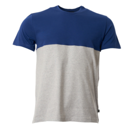 Munoman - T-shirt Bruce Hip blue- Grey