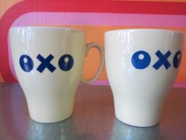 Oxo-tassen, getailleerd
