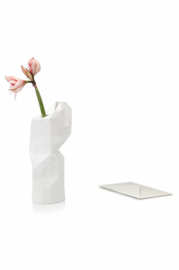 Paper Vase Cover large - Plain white