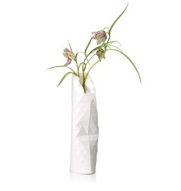 Paper Vase Cover small - Plain white