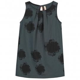 Tricot jurk grijs